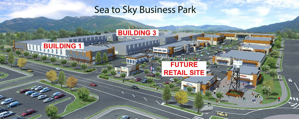Sea to Sky Business Park rendering